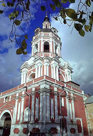 Колокольня  Донского монастыря