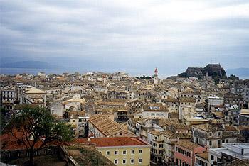 Керкира - столица остова Корфу