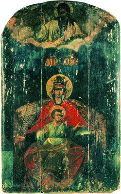 Державная икона Божией Матери (ц. Казанской иконы Божией Матери в Коломенском)