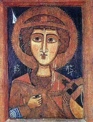 Грузинская икона XIV-XV в.
