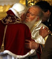 Константинопольский Патриарх недоволен распространением антиэкуменических настроений среди иерархов Элладской Церкви