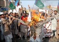 В Пакистане во время нападения на христианский квартал ранены три человека