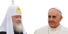 Поздравление Святейшего Патриарха Кирилла Папе Франциску с годовщиной избрания на кафедру Римских епископов