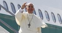 Пролетая над Россией, Папа Франциск направил телеграмму Владимиру Путину