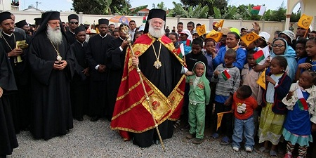 Патриарх Александрийский Феодор II прибыл с официальным визитом на Мадагаскар