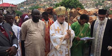 Православный приют для детей, чьи родители умерли от лихорадки Эбола, заложен в Сьерра-Леоне