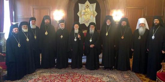 Члены Исполнительного комитета Ассамблеи канонических православных епископов США посетили Фанар