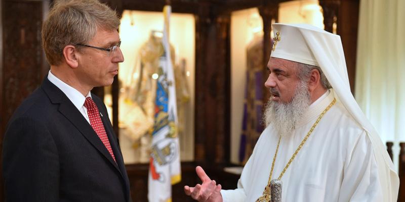 Румынский Патриарх встретился с генеральным секретарем Всемирного совета церквей