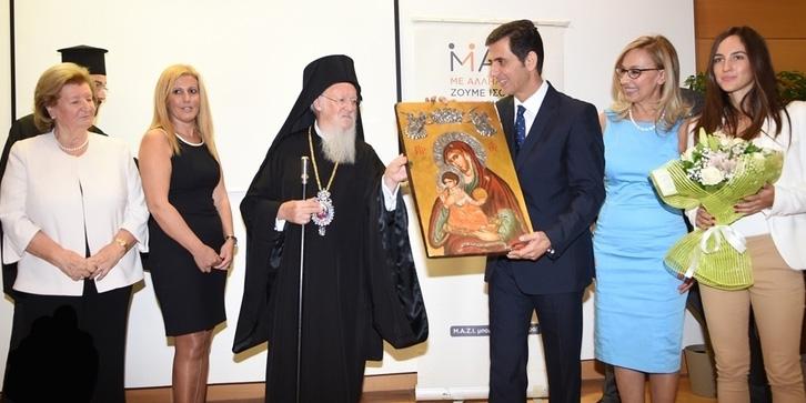 Патриарх Варфоломей прибыл с визитом в Северную Грецию