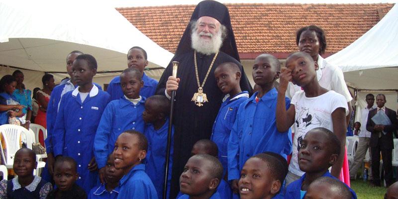 Патриарх Александрийский Феодор II прибыл с пастырским визитом в Уганду