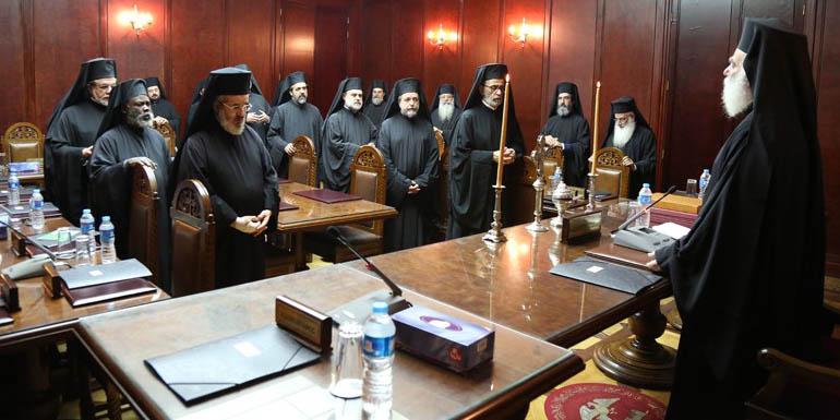 Состоялось заседание Синода Александрийской Православной Церкви