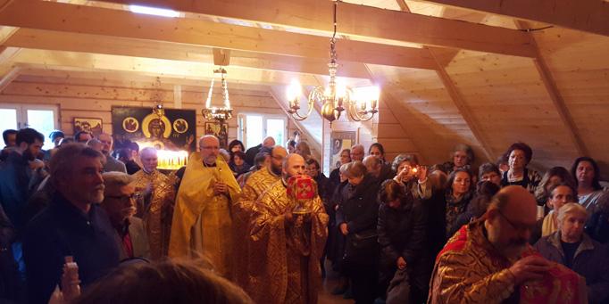 В Швеции освящен воссозданный после пожара греческий православный монастырь св. Николая