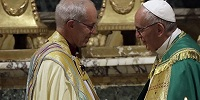 Папа Римский и Архиепископ Кентерберийский совершили экуменическое богослужение в Риме