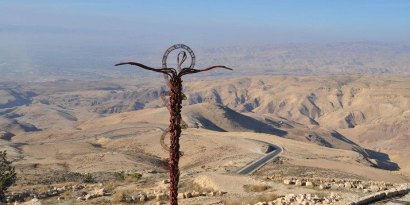 «Мемориал Моисея» на вершине знаменитой библейской горы Нево вновь открыт для паломников
