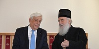 Состоялась встреча Патриарха Сербского Иринея с президентом Греческой Республики Прокописом Павлопулосом