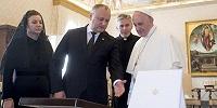 Папа Римский Франциск встретился с президентом Республики Молдова Игорем Додоном