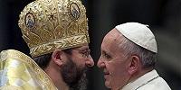 Папа Франциск посетит униатскую базилику св. Софии в Риме и встретится с местной украинской греко-католической общиной