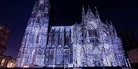 В Кёльнском соборе прошло ежегодное световое шоу