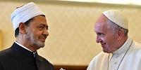 Папа Франциск принял великого имама университета аль-Азхар