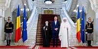 Константинопольский Патриарх Варфоломей и Патриарх Румынский Даниил встретились с президентом Румынии Клаусом Иоханнисом