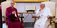 Архиепископ Кентерберийский заявил, что он «совершенно счастлив видеть англикан, обращенных в католицизм»