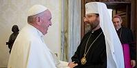 Глава Украинской греко-католической церкви встретился с Папой Римским Франциском