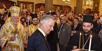 Король Бельгии Филипп посетил православную Литургию в праздник Торжества Православия