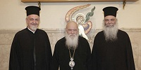 Иерархи Константинопольского патриархата обсудили с Архиепископом Афинским проблему украинской автокефалии