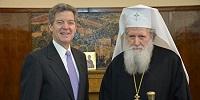 Спецпредставитель США по вопросам религиозной свободы встретился с Предстоятелем Болгарской Православной Церкви