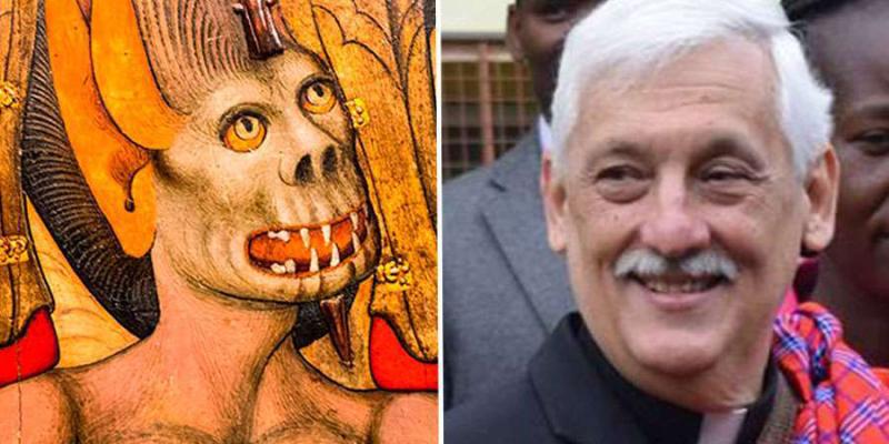 Картинки по запросу Международная ассоциация экзорцистов подвергла резкой критике высказывания главы Ордена Иезуитов о дьяволе