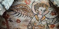 Усыпальницы с росписями XIV в. найдены в Брюгге