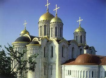 Кафедральный Успенский собор Владимира