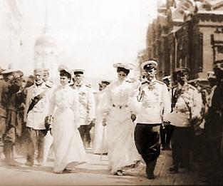 Николай ii в сарове. 1903 г.