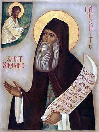 икона прп. Силуана Афонского