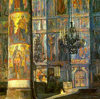 В Архангельском соборе