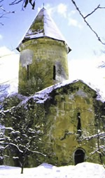 Храм в с.Киш, построенный во времена св.ап.Елисея