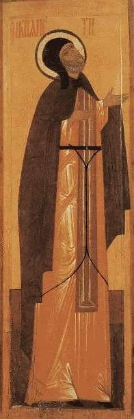 Св. Петр Муромский. Икона XVI в.