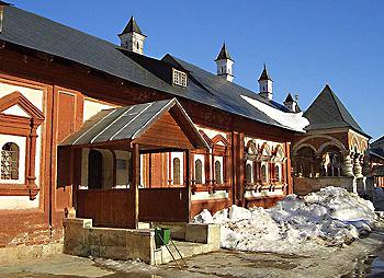 В Саввино-Сторожевском монастыре. Фото - Н. Бондаревой