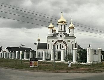 Храм прп. Сергия Радонежского в ЮАР