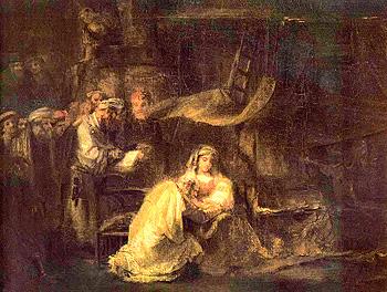 Обрезание Господне. Рембрандт, 1661 г.