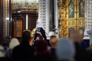 Патриаршая проповедь во вторник первой седмицы Великого поста после великого повечерия в Храме Христа Спасителя