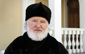 Патриаршее поздравление ректору Свято-Тихоновского университета протоиерею Владимиру Воробьеву с 80-летием со дня рождения