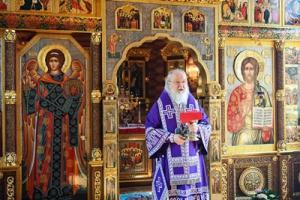 Патриаршая проповедь в Неделю 5-ю Великого поста