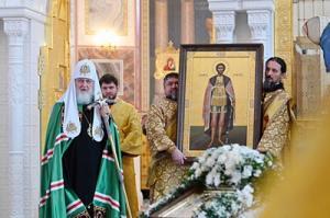 Патриаршее слово после Литургии в восстановленном Александро-Невском собора Волгограда